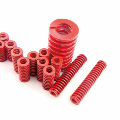 22mm OD Red Medium Load Compression Stamping Mould Die Spring 11mm ID All Sizes 9