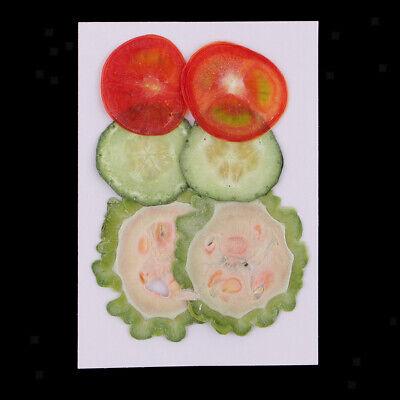 6 Pack echt gepresst getrocknete Blumen Obst Scheiben Verzierungen DIY 2