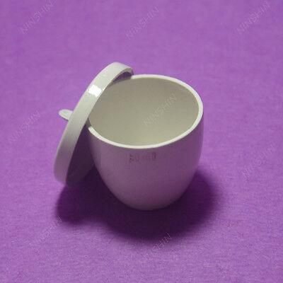 Crucible,Lab Porcelain Crucible 50ML,1PC 2
