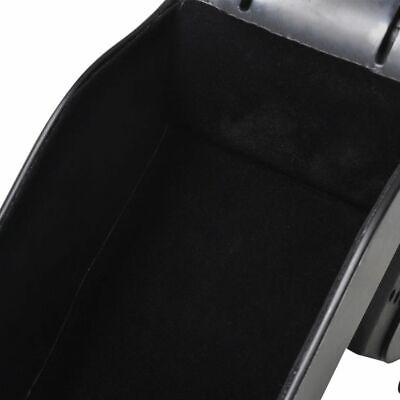 vidaXL Reposabrazos Universal para Coche Negro Apoyabrazos Accesorio Automovil 5