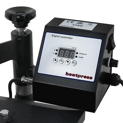 12 X 10 Digital Clamshell T SHIRT HEAT PRESS HEATPRESS TRANSFER MACHINE NEW 7