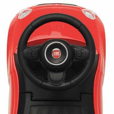 vidaXL Coche Correpasillos para Niño Fiat 500 Carrito Juguete Diversos Colores 7