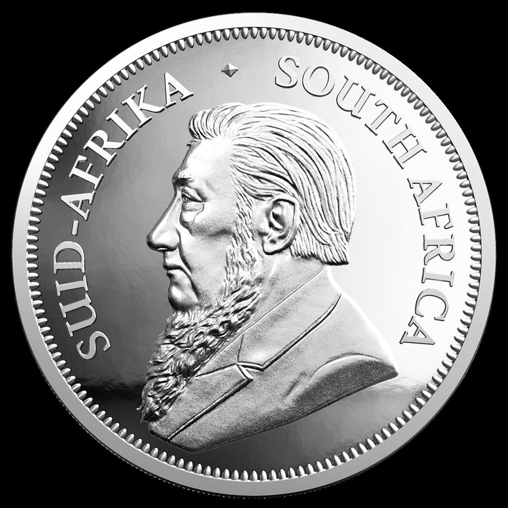 Südafrika 2019 Krügerrand 1 Oz Silber PP im Etui 2
