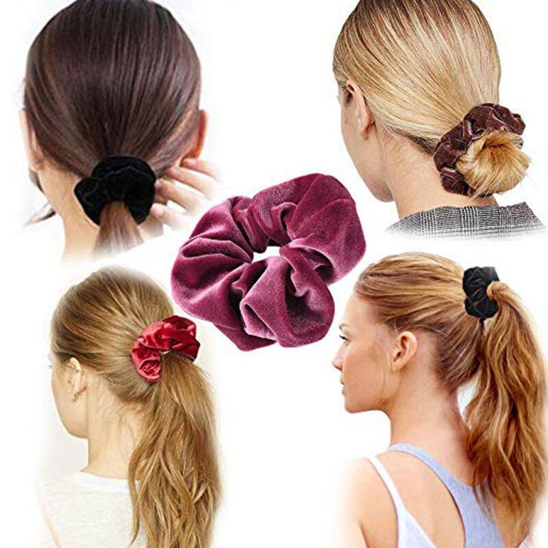40Pcs Hair Scrunchies Velvet Elastic Hair Bands Scrunchy Hair Band 9 15 20pcs Ne 7