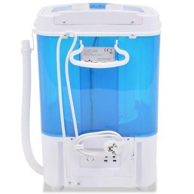 Mini Waschmaschine mit Schleuder Waschautomat Wäscheschleuder 2,6 kg Camping Neu