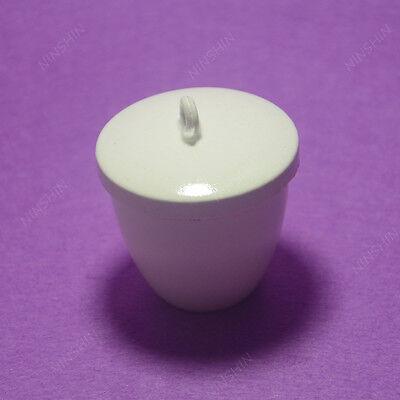 Crucible,Lab Porcelain Crucible 50ML,1PC 3