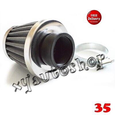 35mm AIR FILTER FOR ATV Quad 70 90 110 125 CC SUNL TAOTAO  TaoTao JCL CLEANER E1