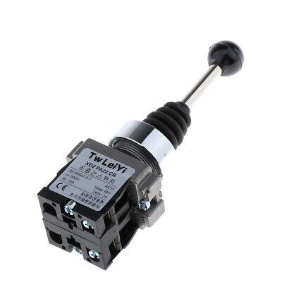 3Stk 2-Wege Joystick Schalter Koordinatenschalter mit Rückstellung für