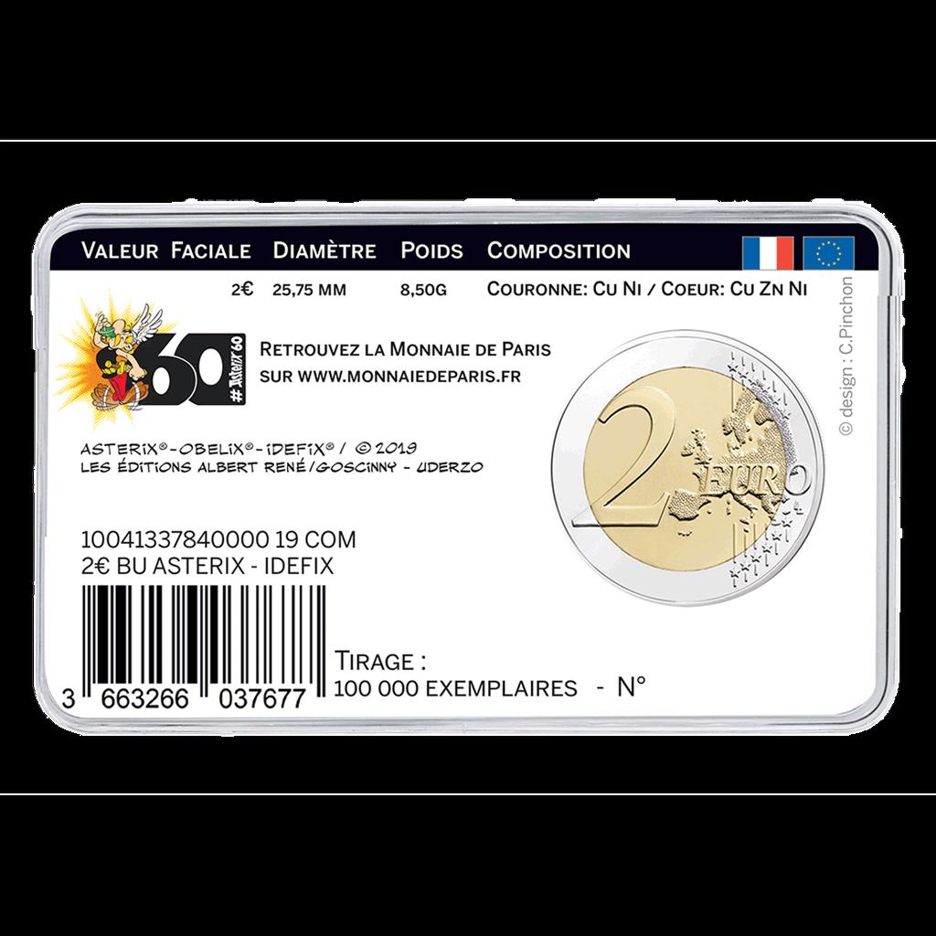 Frankreich - 3 x 2 Euro 2019 Asterix - Obelix Idefix - Satz 5
