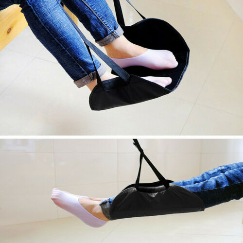 Comfy Hanger Travel Airplane Footrest Hammock Foot Made with Memory Foam Premium 6