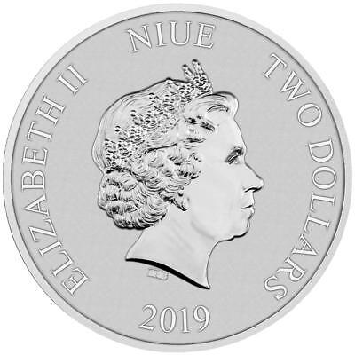 Niue - 2 Dollar 2019 - Klonkrieger™ Star Wars™ - Anlagemünze - 1 Oz Silber ST 3