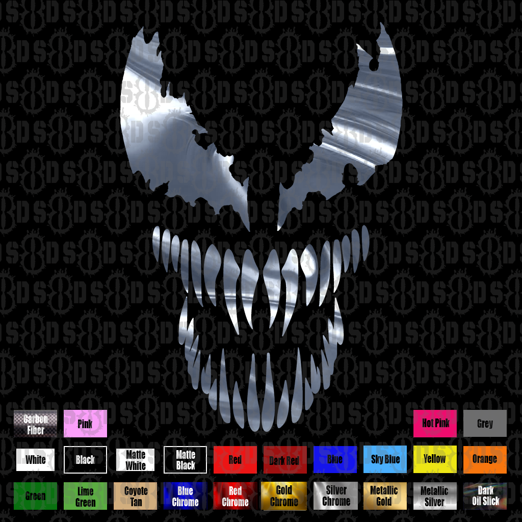 Venom Vinyl Decal Sticker laptop helmet Car Truck Window
