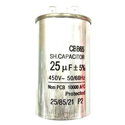 450V25UF Motor Run Capacitor Home Air Conditioner Start Run Capacitor CBB65 4