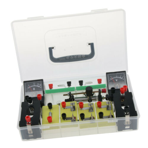 Physics Science Basic Circuit Electricity Classroom Experiment Learning Kit. 8
