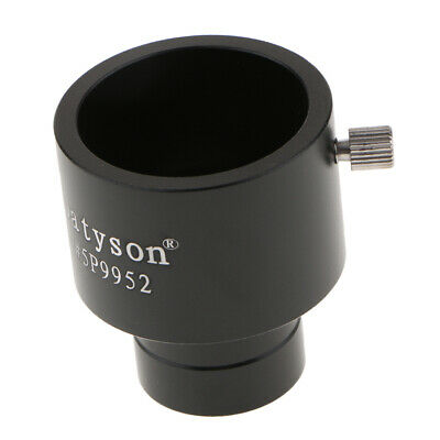 """Telescope eyepiece adapter 1.25 inch to 0.965 """" or 32 mm to 25 mm scope .965 .96 2"""