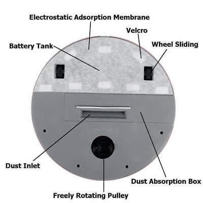 Robot Aspirapolvere Automatico Intelligente Pulizia Casa Pavimento Polvere Pelo 5