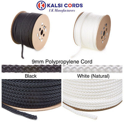 Polypropylene Rope Braided Poly Cord Strong String Boating Camping Sailing Yacht 10
