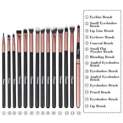 24 Professional Ovonni Makeup Brush Kit Set Cosmetic Make Up Beauty Brushes 7