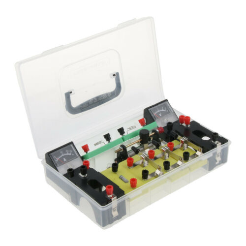 Physics Science Basic Circuit Electricity Classroom Experiment Learning Kit. 10