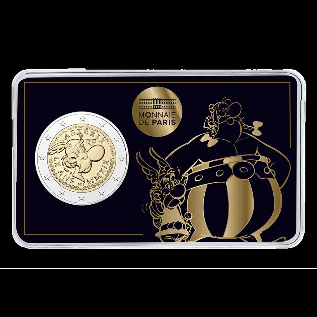 Frankreich - 3 x 2 Euro 2019 Asterix - Obelix Idefix - Satz 6