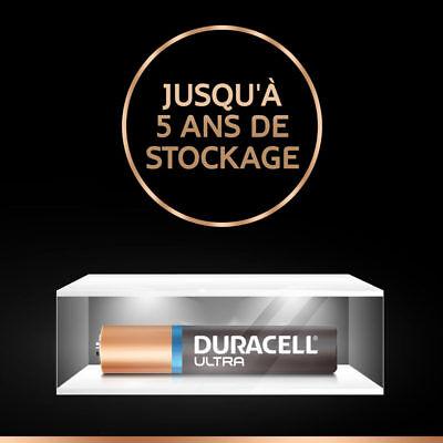 2 X Duracell AAAA 1.5 V Ultra Piles Acalines MN2500 MX2500 E96 LR61 4