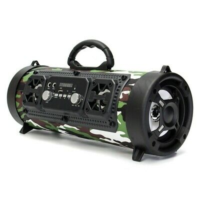 High Bass Ultra Loud Bluetooth Speakers Portable Wireless Speaker Outdoor/Indoor 4