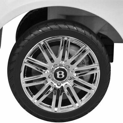 vidaXL Coche Correpasillos para Niños Bentley Blanco Auto Infantil de Juguete 5