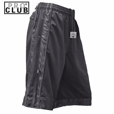 New Men's Proclub Printed Skull Funny Heavy Weight Basketball Mesh Shorts Pants 6