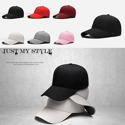 aa7ab608b91 ... 2016 Men Women New Black Baseball Cap Snapback Hat Hip-Hop Adjustable  Bboy Caps 5
