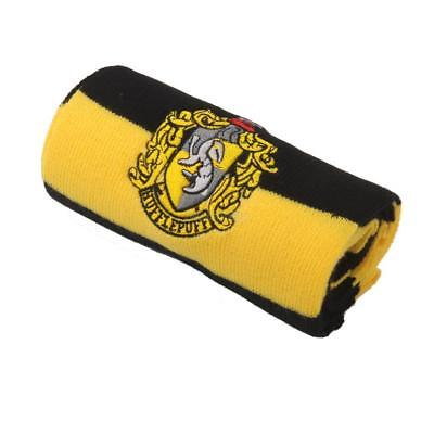 Harry Potter Vouge Hufflepuff House Cosplay Knit Wool Costume Scarf Wrap 6