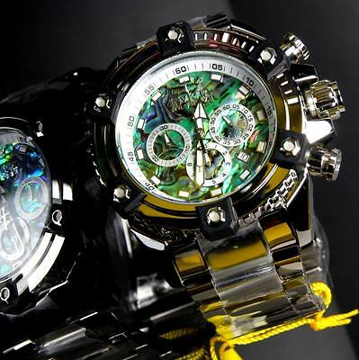 Invicta Reserve Grand Arsenal Octane Abalone Silver Full Size 63mm Watch New 5