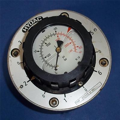Hydac 0-2300Psi Switch Gauge Ms2A2.1/100/14507 2