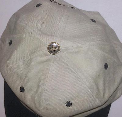Collectible Bacardi Rum Bat Adjustable Baseball Hat Cap Gray Black NEW