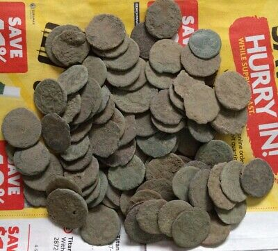 UNCLEANED ROMAN COINS, Price Per Coin Buying !