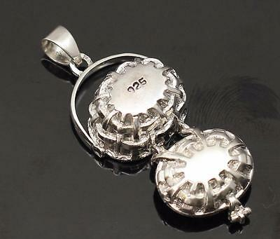 925 Sterling Silver Nautical Charm Lid To Hold Scrimshaw 3-D Nantucket Basket