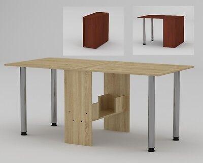 Klapptisch Raumspar Tisch Klappbar Sonoma Eiche Skladnoj Stol
