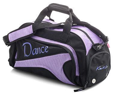 Medio Grande Luccicante Viola Da Ballo E Balletto Tap Kit Borsone Borsa Sportiva 2