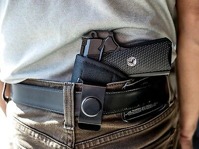 S/&W M/&P Compact 9C 40C 45CSmall of Back SOB IWB Conceal Nylon Holster