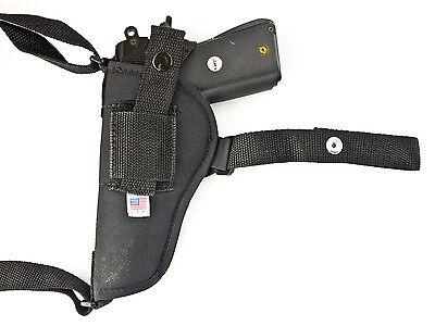 Davis P-32Nylon Horizontal Shoulder Holster w// Mag Pouch