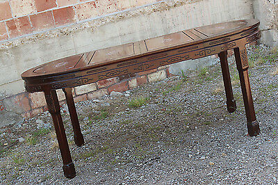 Vintage Chinese Rosewood and Mother-of-Pearl Dining Table 6