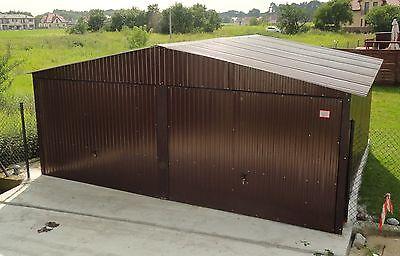 Fertiggarage 6x6m 6x6m mehrzweck schuppen blechgarage garage fertiggarage metallgarage