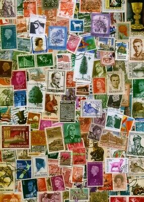 1000s DIFFERENT Mint/Used WORLDWIDE Stamps Collection Lot Pack of 100 - BONUS!!! 10