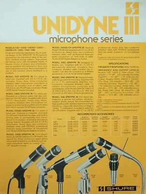 Vintage 597ms Shure Brothers 545 S Dinamico Cardioide Microfono SM57 SM56 2 2