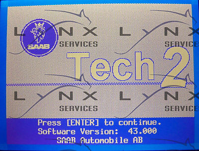 SAAB 44.000 Card Tech2 Vetronix Tech 2 Scanner 10MB (1988-1998) 2