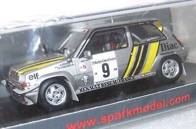Kinderrennbahnen Elektrisches Spielzeug Scalextric 6204 Renault 5 Turbo #15 Diac Chatriot Perin Mb