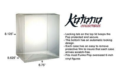 Katana Collectibles Funko Pop Protector Case For 6 Inch Vinyl Figures (5 pack) 3