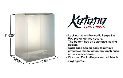 Katana Collectibles Funko POP 9 Inch Vinyl Figure Protector Case - 1 Count 3