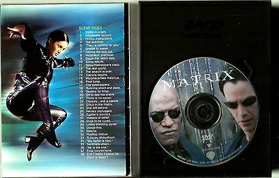 "DVD ""The Matrix"" (1999) Keanu Reeves, Laurence Fishburne 2"
