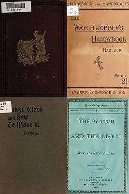125 Rare Books On Horology, Pocket Watch, Clock, Sundial, Repair & More-Vol1 Dvd 6