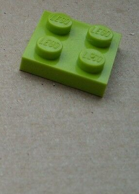 Lego Pack de 50 Plaque 2x2 Bleu 3022 Neuf Base Construction